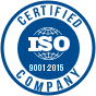 ISO Certified Company - 9001:2015