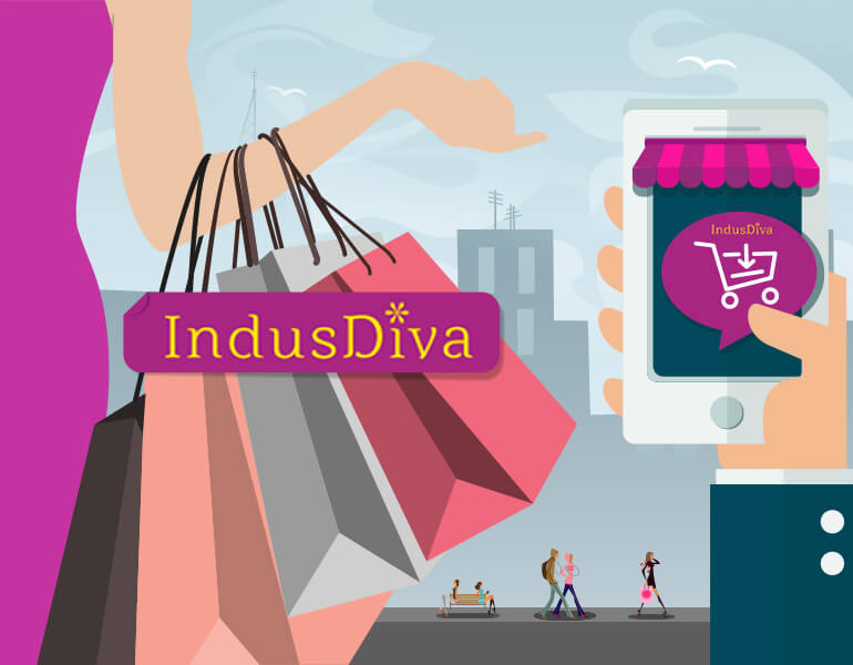 IndusDiva e-commerce development