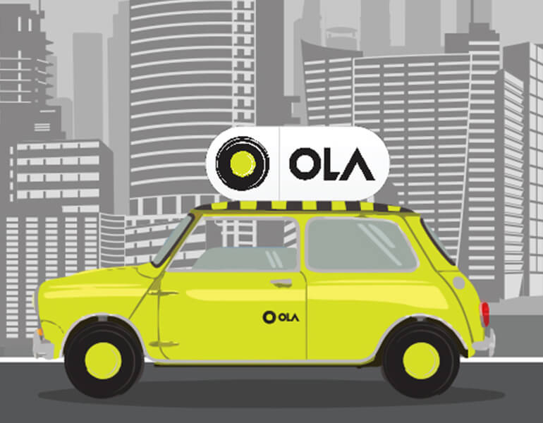 Ola Shuttle Web Development