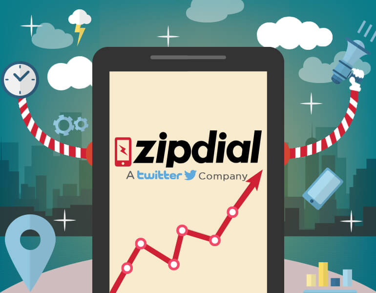 Zipdial - Twitter Company