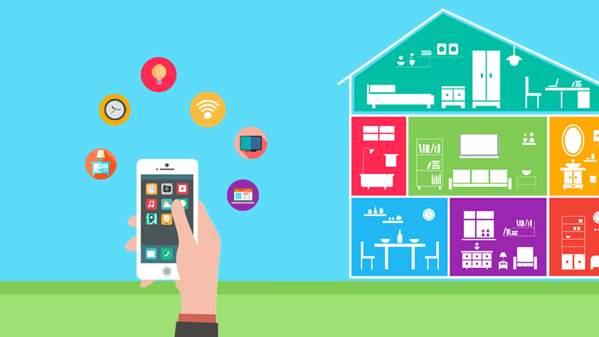 Tremendous Smart Home Technologies To Make Your Home A Smart Home Download Free Architecture Designs Scobabritishbridgeorg