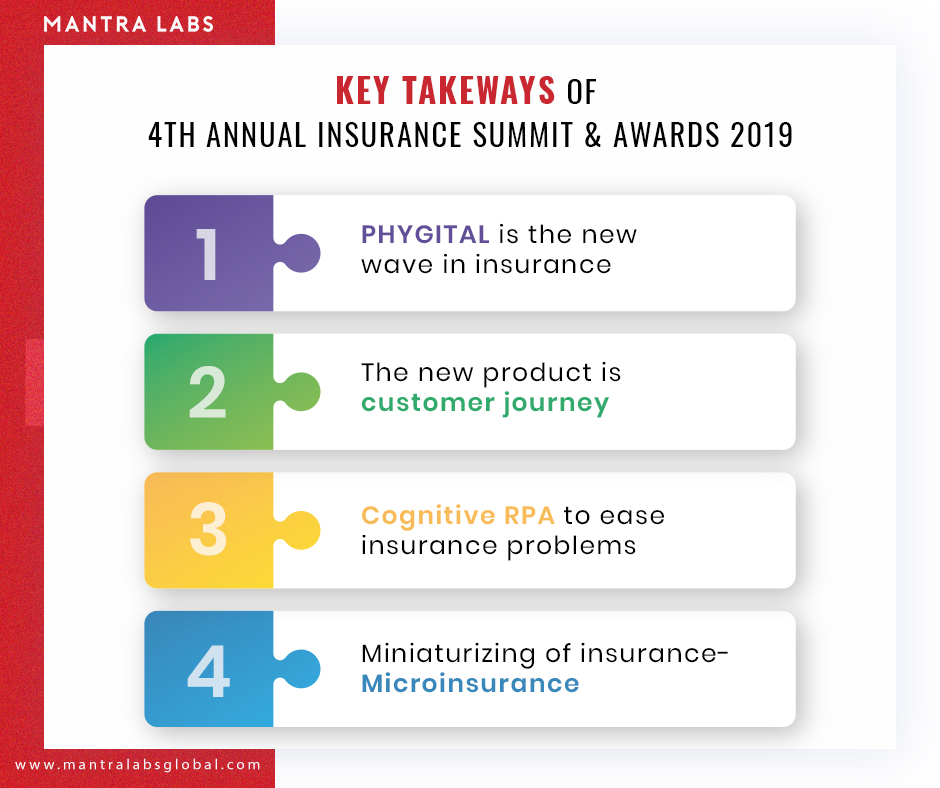 Key takeaways of 4th Annual Insurance Summit and Awards 2019
