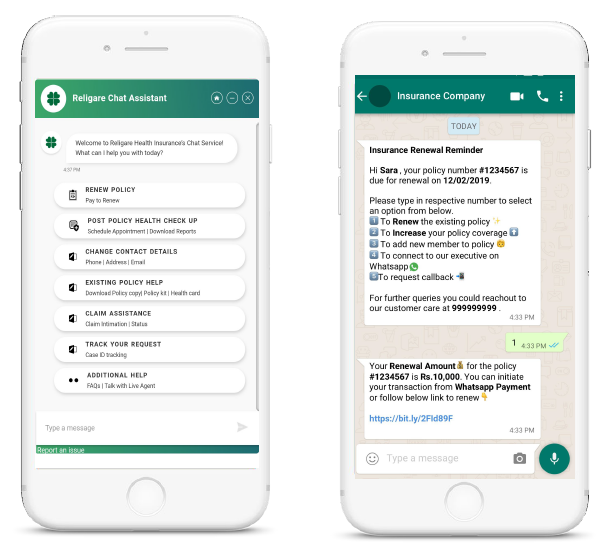 Religare Chatbot