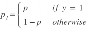 focal loss function
