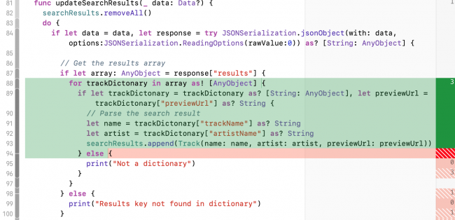 Code Coverage Annotations - Testing in Swift