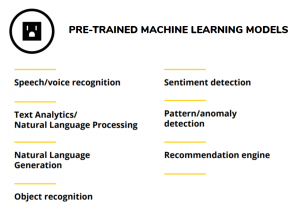 pre-trained machine learning models