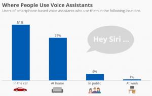 voice assistants usage